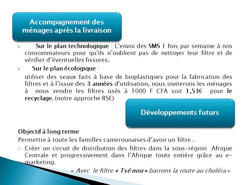 Accompagnement des ménages après la livraison Développements futurs