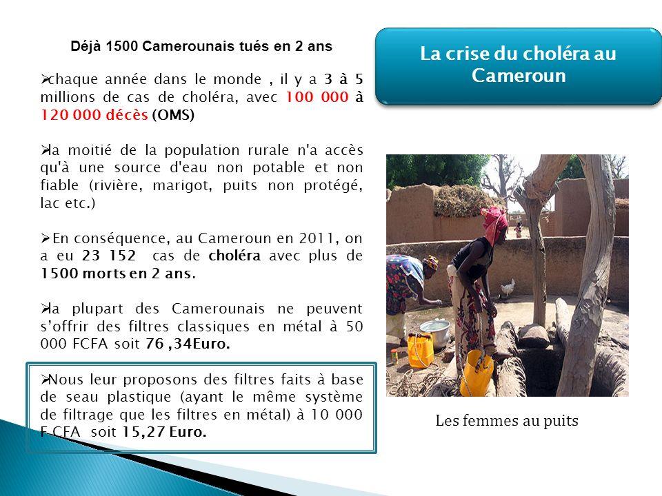 La crise du choléra au Cameroun Déjà 1500 Camerounais tués en 2 ans