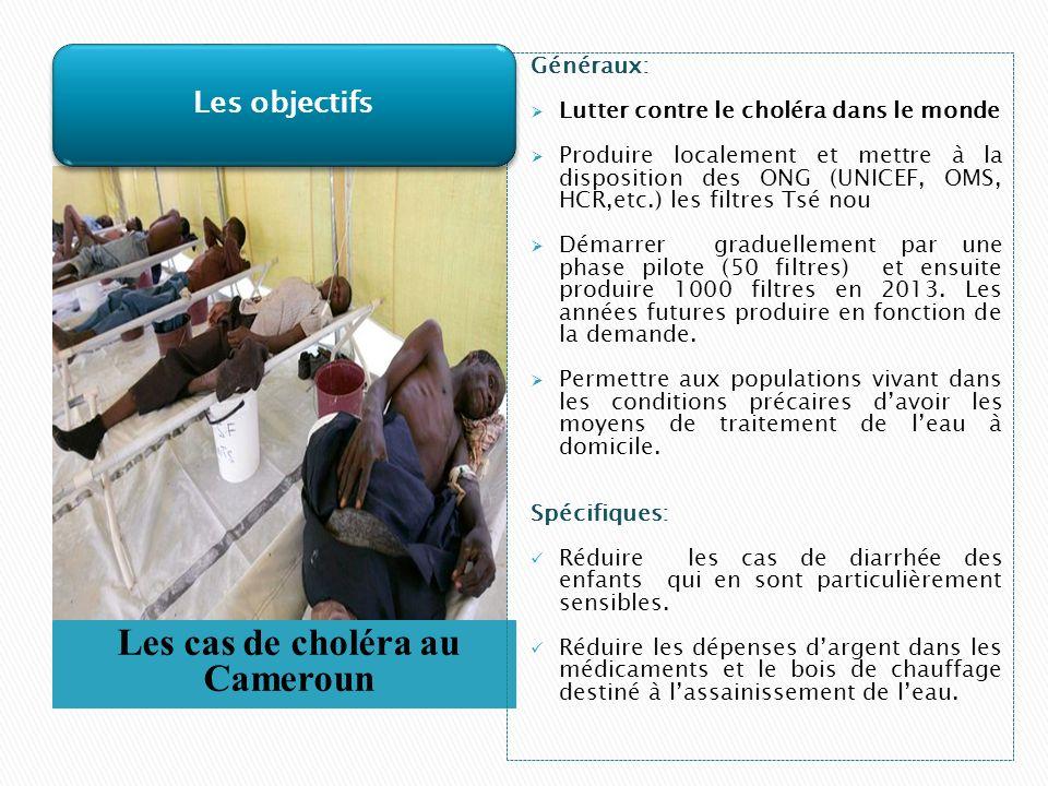 Les cas de choléra au Cameroun