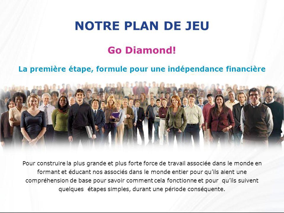 La première étape, formule pour une indépendance financière