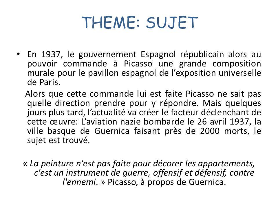 THEME: SUJET