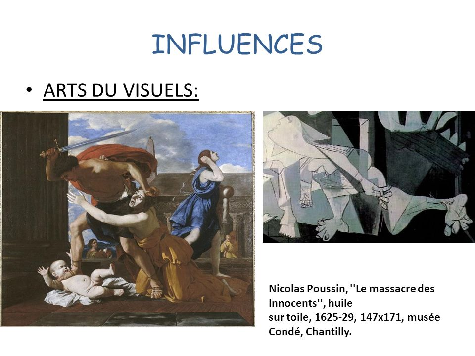 INFLUENCES ARTS DU VISUELS: