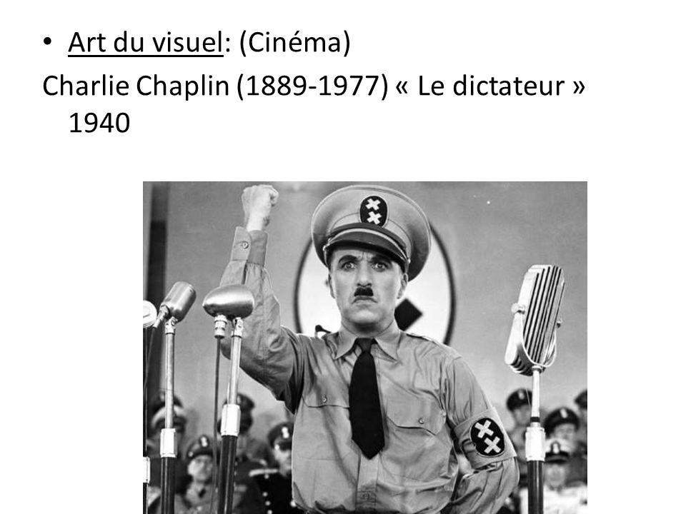 Art du visuel: (Cinéma)