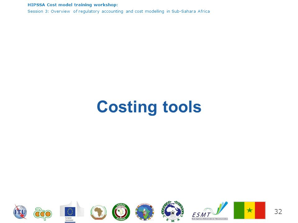 Costing tools