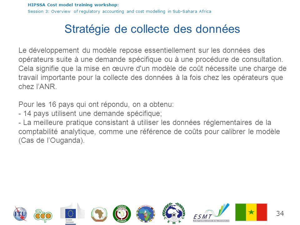 Stratégie de collecte des données