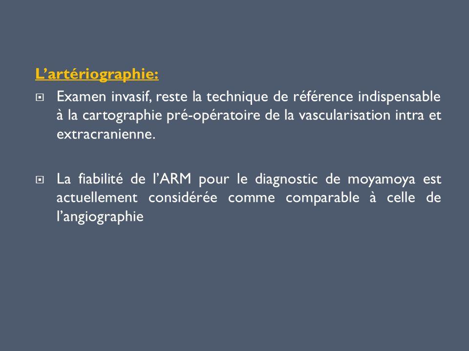 L'artériographie: