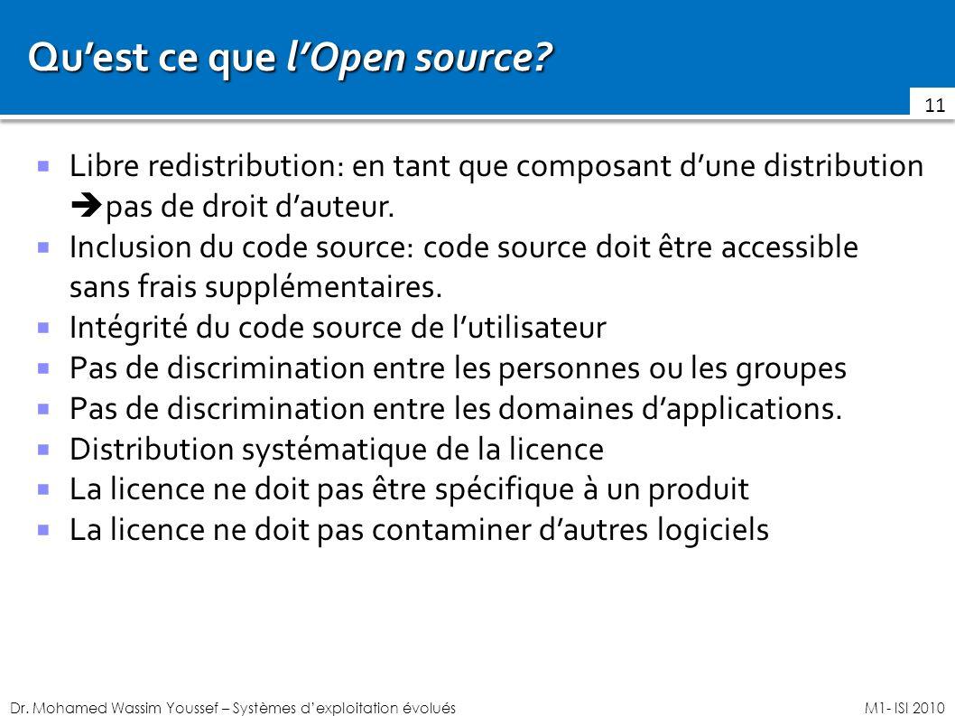 Qu'est ce que l'Open source