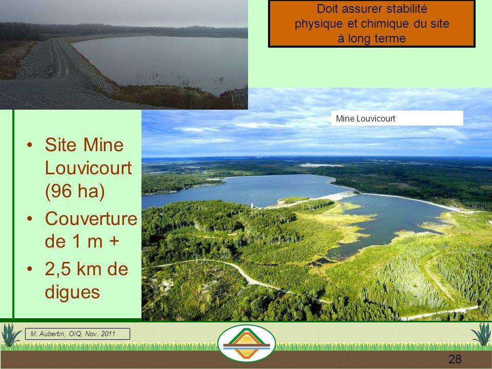 Site Mine Louvicourt (96 ha)