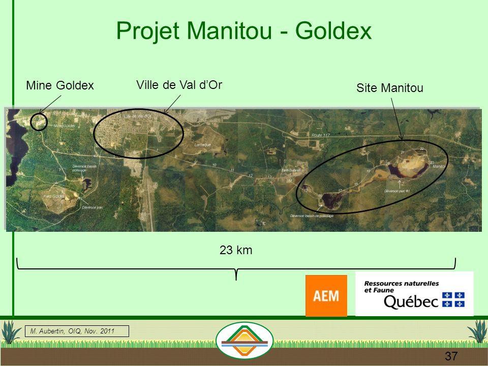 Projet Manitou - Goldex