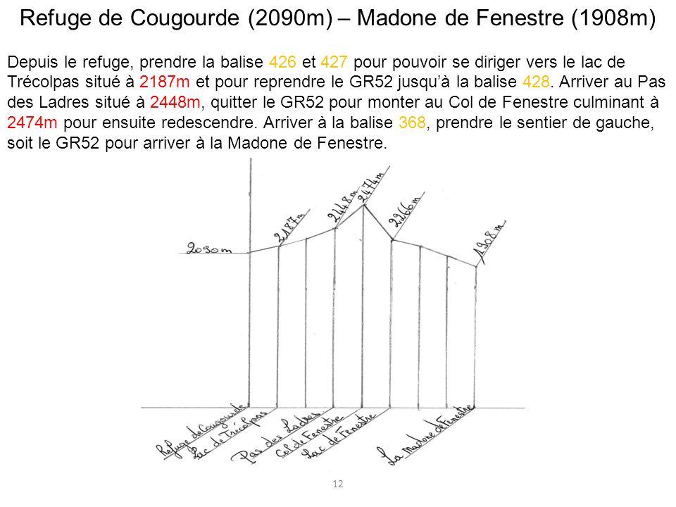 Refuge de Cougourde (2090m) – Madone de Fenestre (1908m)
