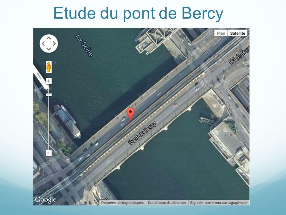 Etude du pont de Bercy