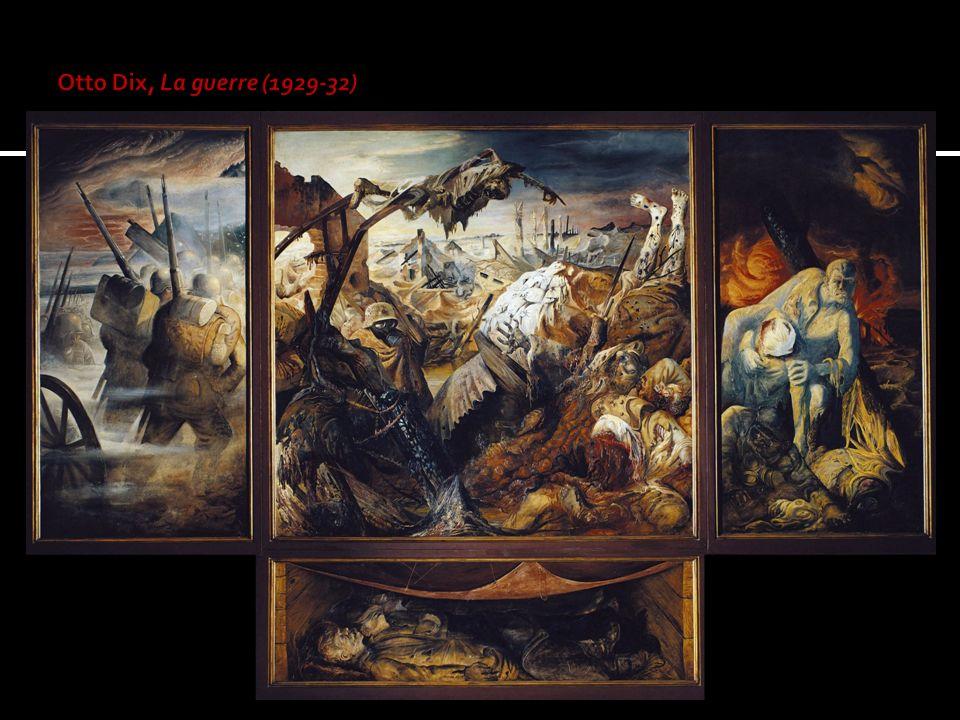 Otto Dix, La guerre (1929-32)
