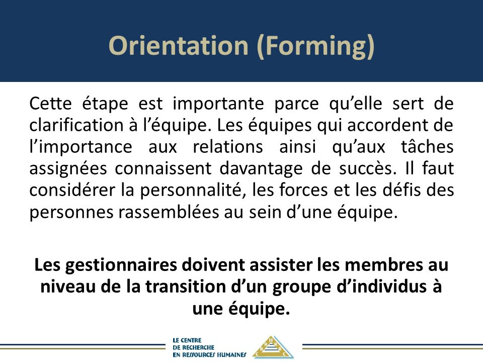 Orientation (Forming)