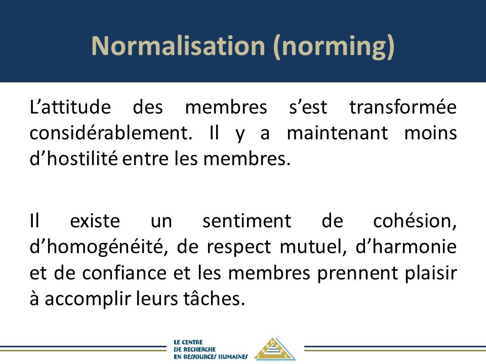 Normalisation (norming)