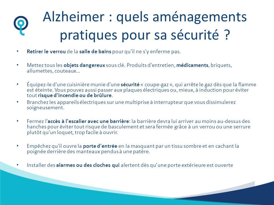 Alzheimer : quels aménagements pratiques pour sa sécurité