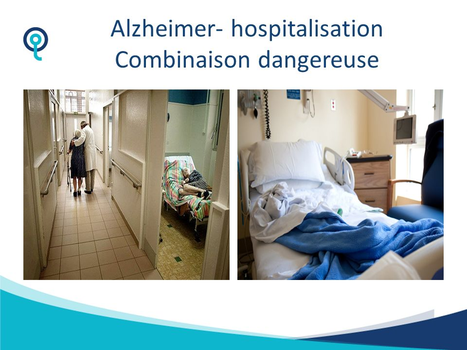 Alzheimer- hospitalisation Combinaison dangereuse