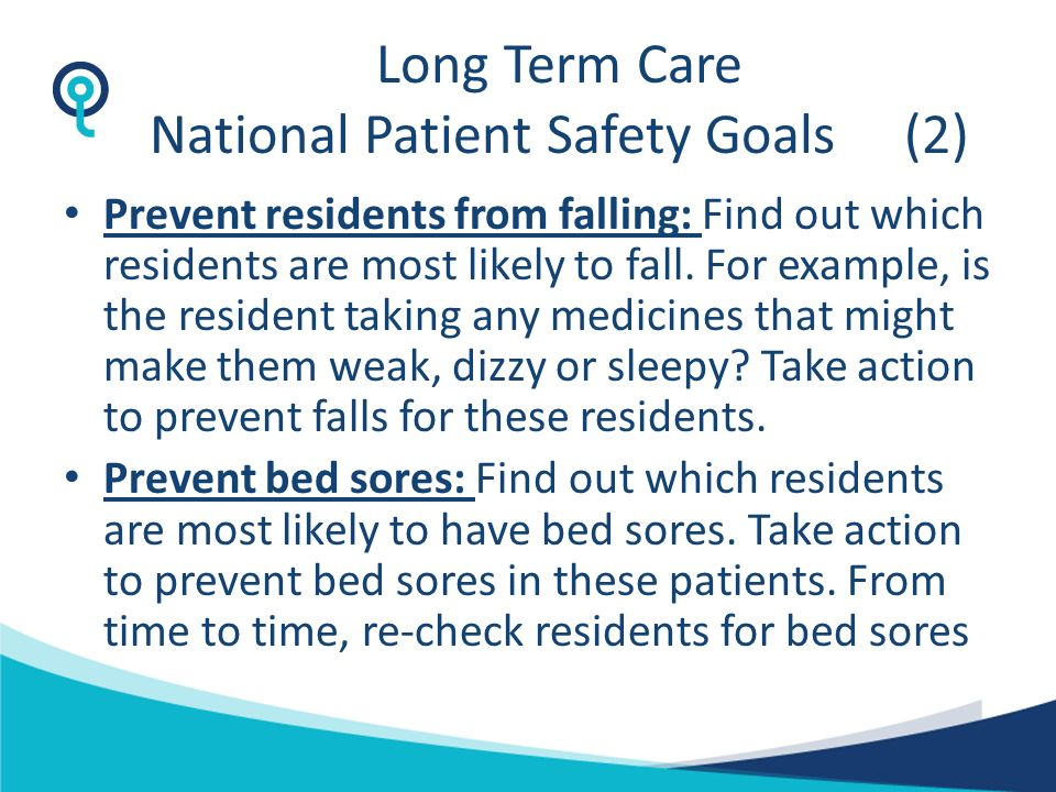 Long Term Care National Patient Safety Goals (2)