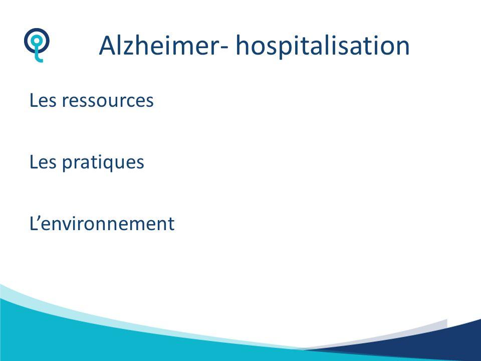 Alzheimer- hospitalisation