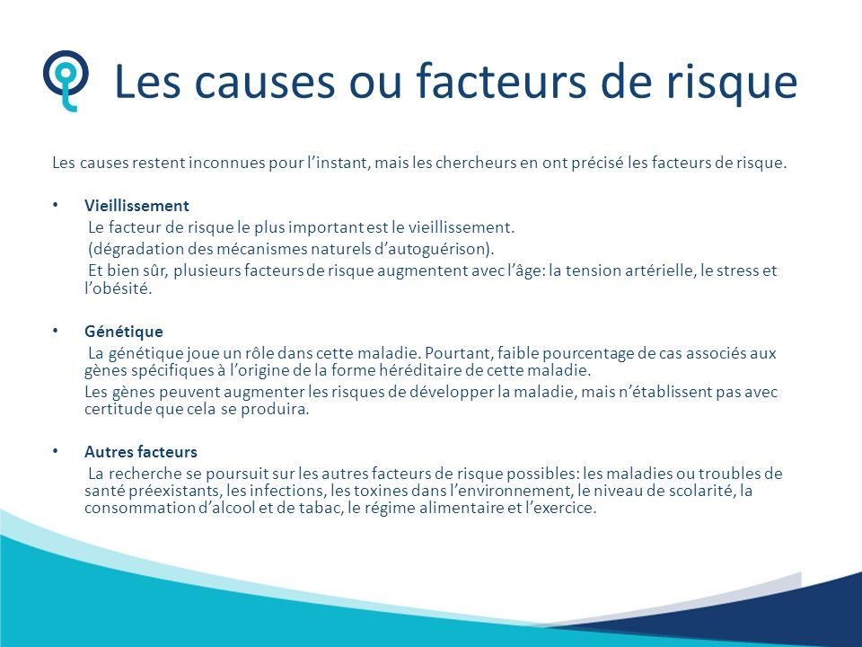 Les causes ou facteurs de risque