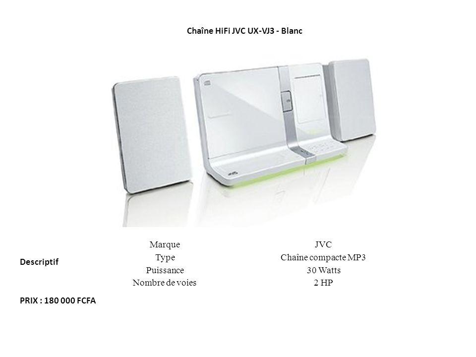 Chaîne HiFi JVC UX-VJ3 - Blanc