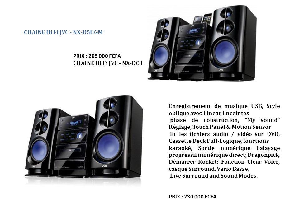 CHAINE Hi Fi JVC - NX-D5UGM