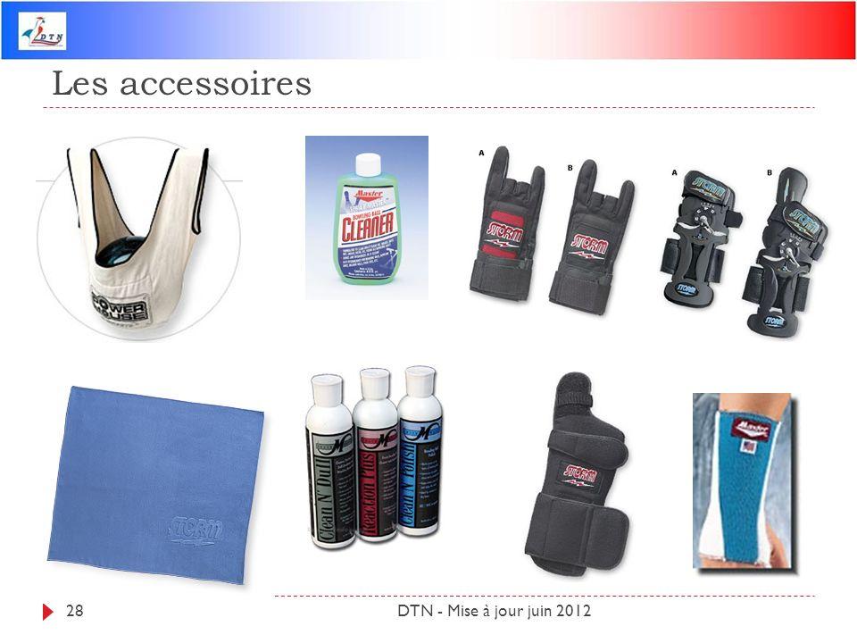 Les accessoires DTN - Mise à jour juin 2012