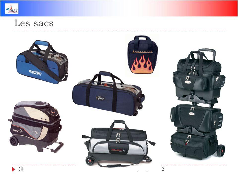 Les sacs DTN - Mise à jour juin 2012