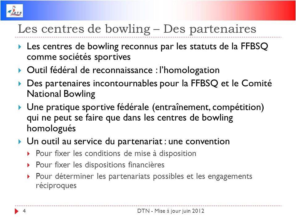 Les centres de bowling – Des partenaires