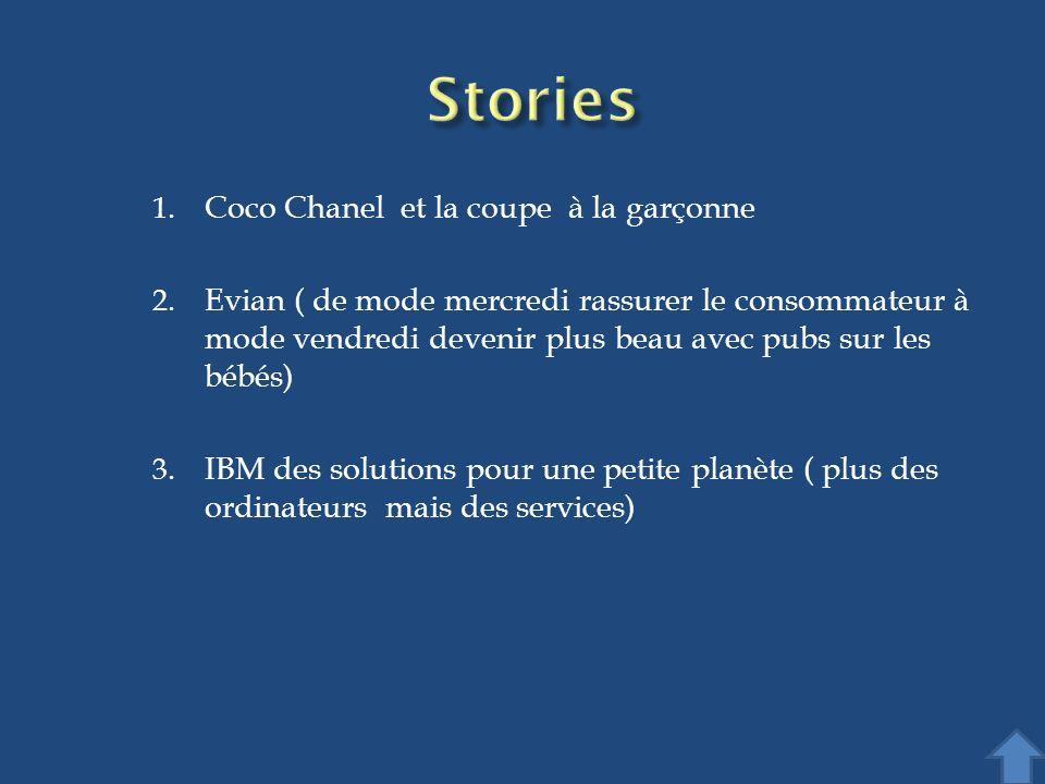Stories Coco Chanel et la coupe à la garçonne