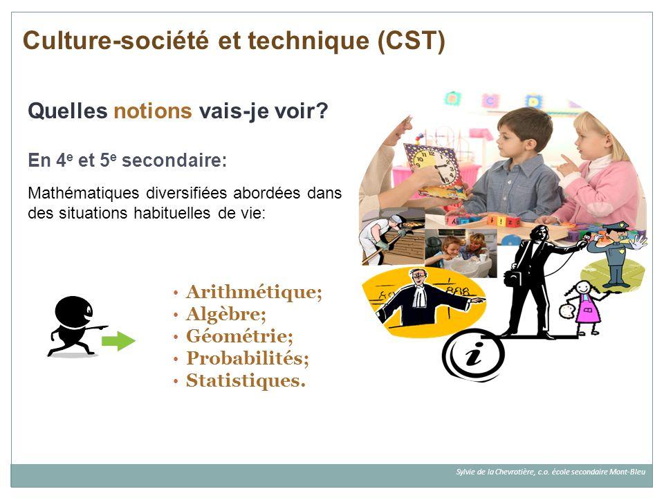 Culture-société et technique (CST)