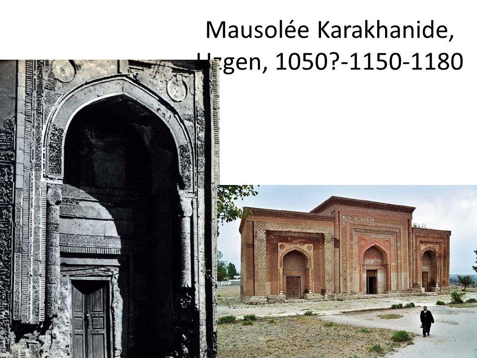 Mausolée Karakhanide, Uzgen, 1050 -1150-1180