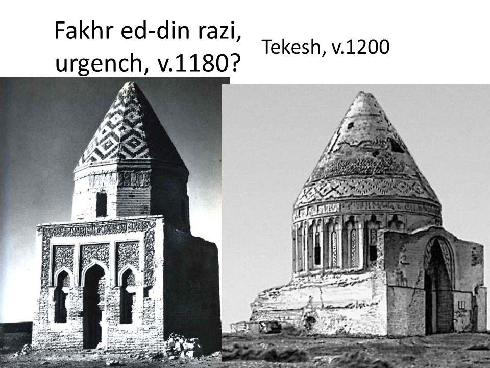Fakhr ed-din razi, urgench, v.1180