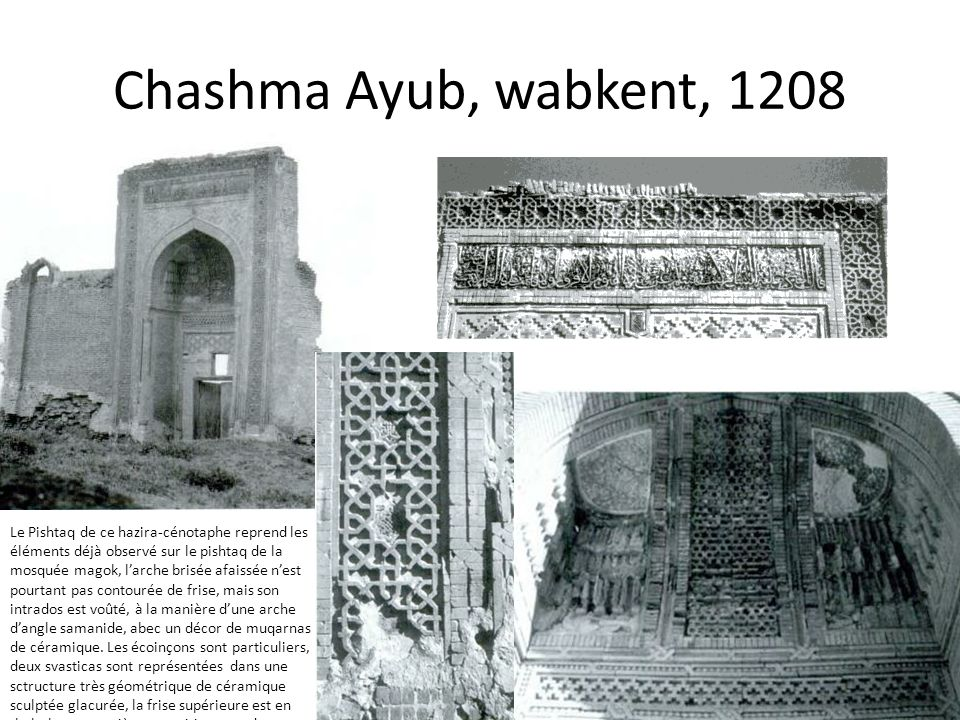 Chashma Ayub, wabkent, 1208