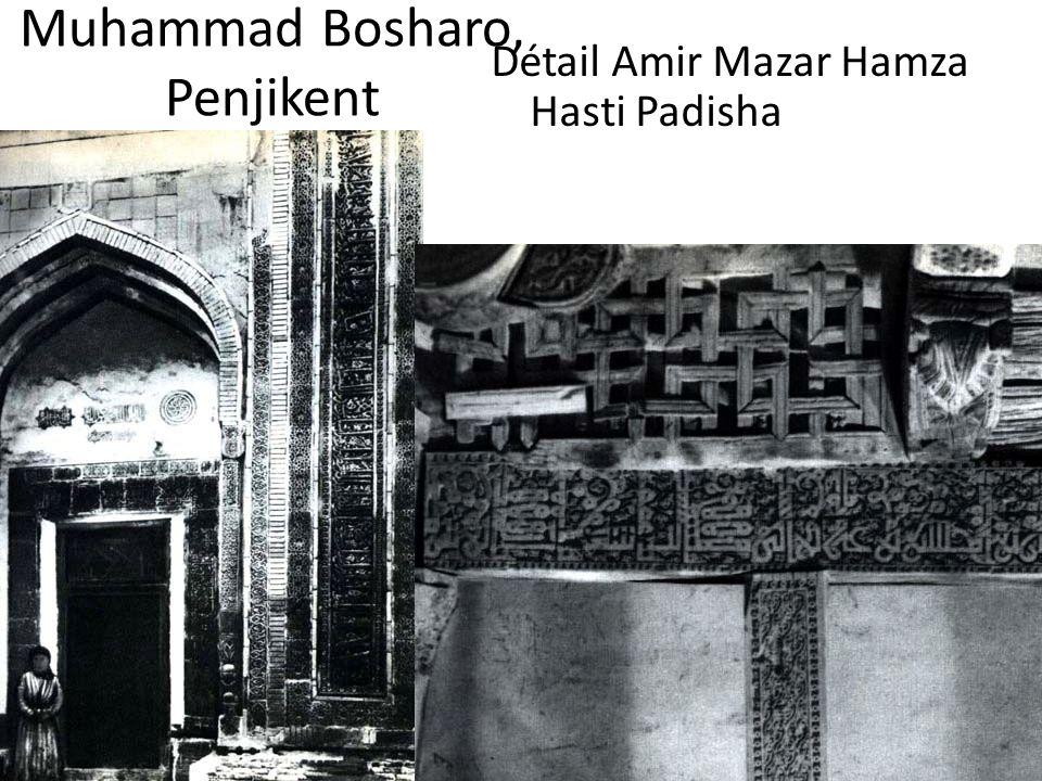 Muhammad Bosharo, Penjikent