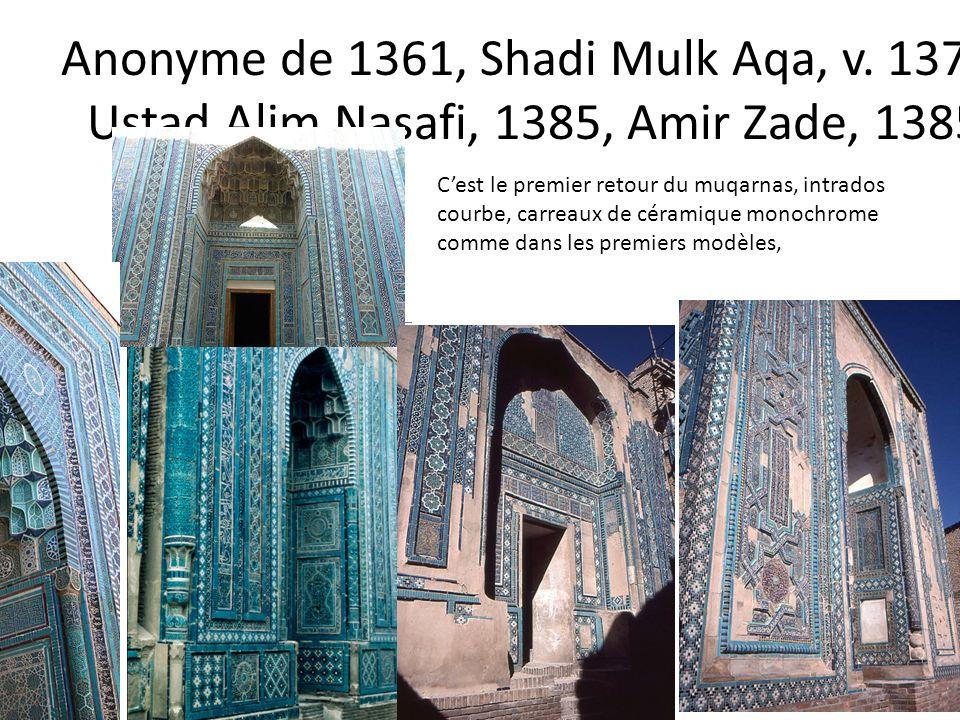 Anonyme de 1361, Shadi Mulk Aqa, v