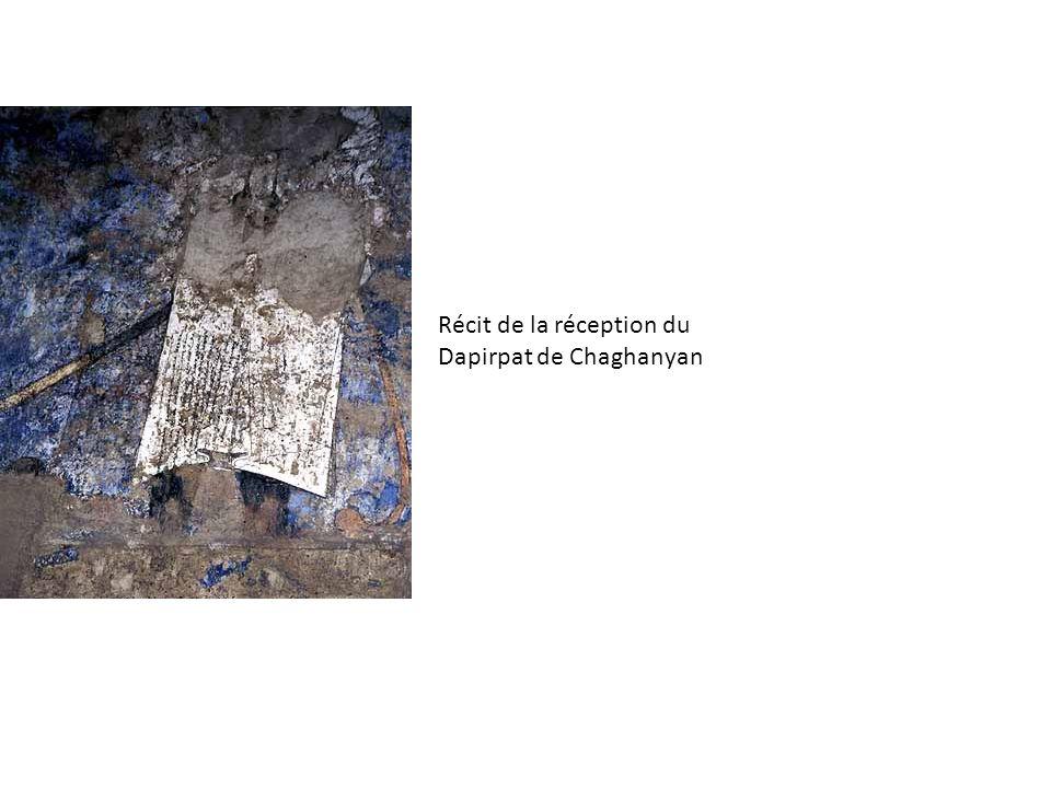 Récit de la réception du Dapirpat de Chaghanyan