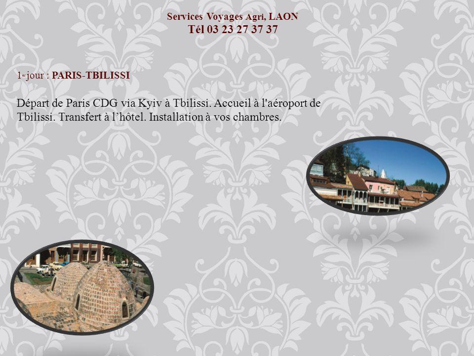 Services Voyages Agri, LAON