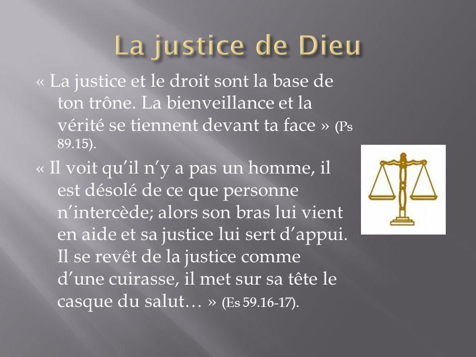 La justice de Dieu