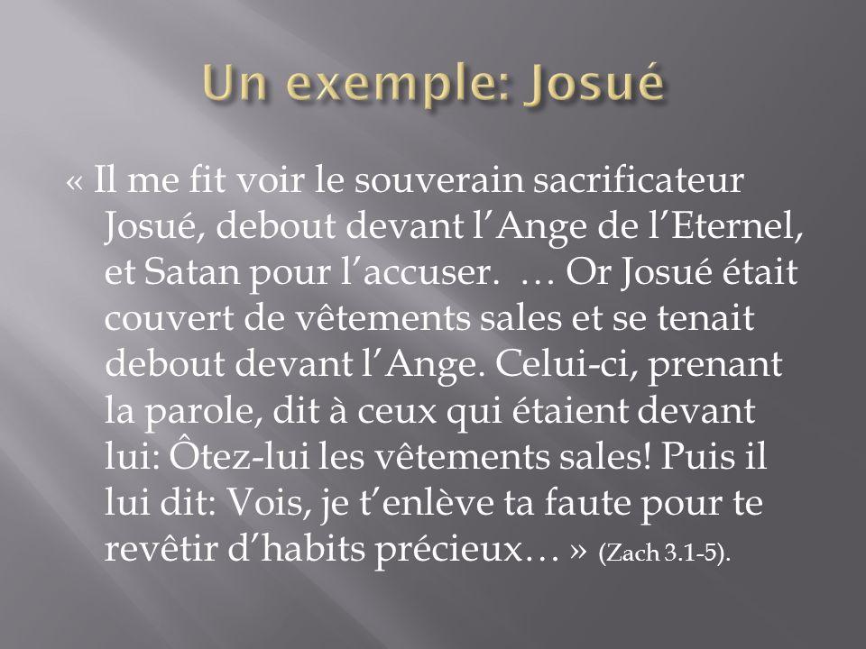 Un exemple: Josué