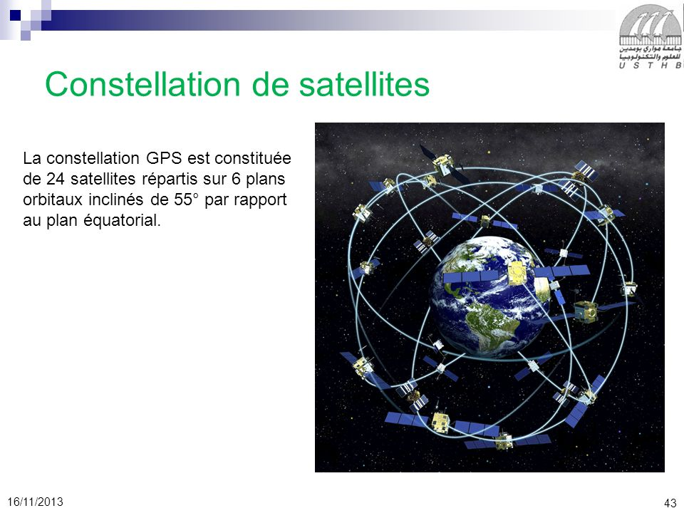 Constellation de satellites
