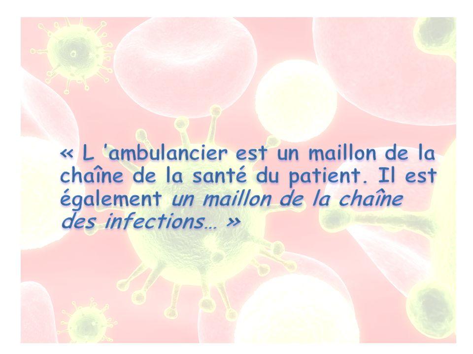 « L 'ambulancier est un maillon de la chaîne de la santé du patient