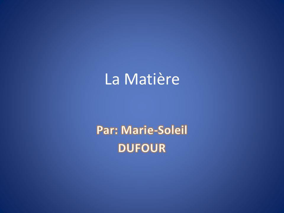 Par: Marie-Soleil Dufour