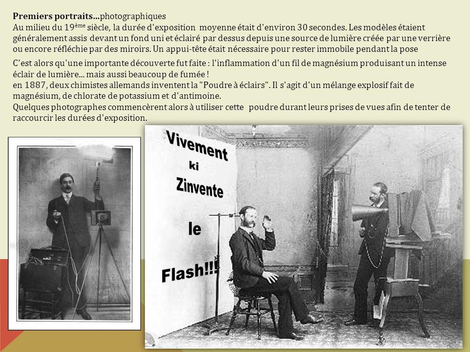 Vivement Zinvente le Flash!!! ki Premiers portraits…photographiques