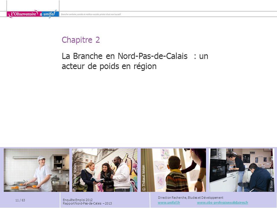 La Branche en Nord-Pas-de-Calais : un acteur de poids en région