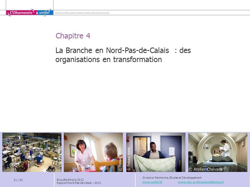 La Branche en Nord-Pas-de-Calais : des organisations en transformation