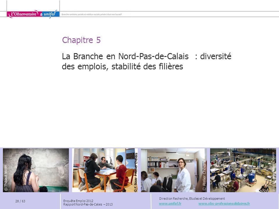 La Branche en Nord-Pas-de-Calais : diversité des emplois, stabilité des filières
