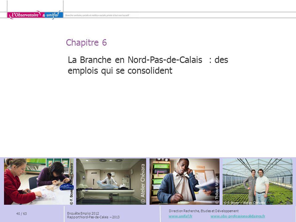 La Branche en Nord-Pas-de-Calais : des emplois qui se consolident