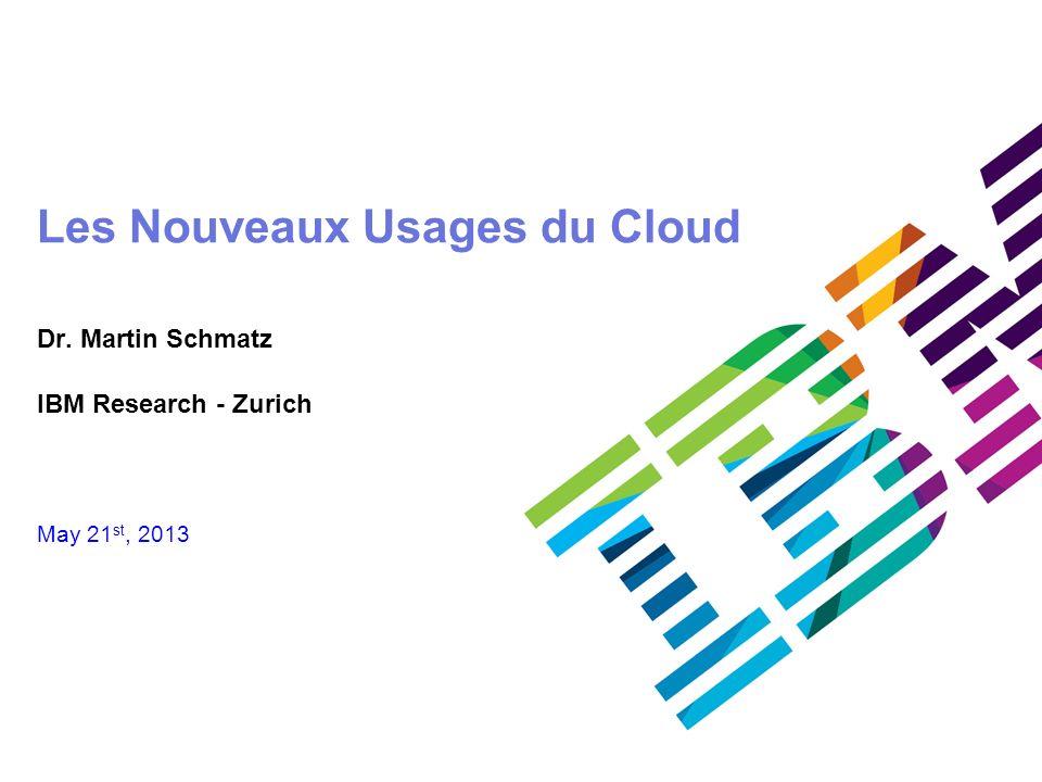 Les Nouveaux Usages du Cloud