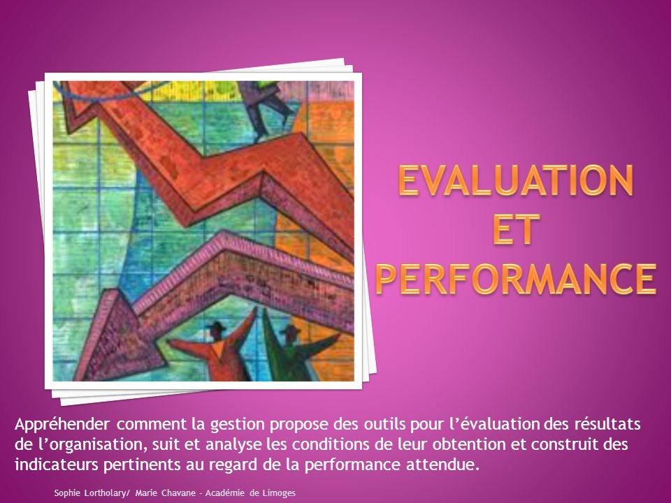 EVALUATION ET PERFORMANCE