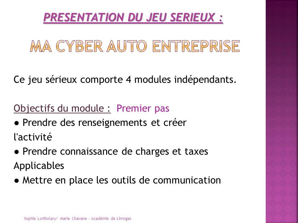 Ma cyber auto entreprise